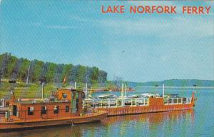 Lake Norfolk Ferry Arkansas