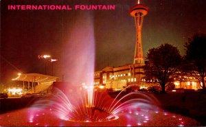 Washington Seattle World's Fair International Foutain