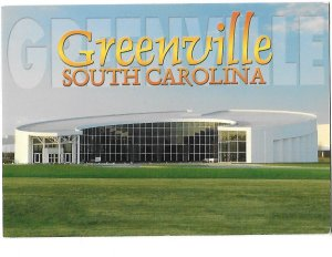 Greenville South Carolina Zentrum Motorcycles & Engines Museum 4 by 6 card