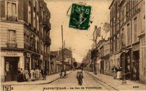 CPA ALFORTVILLE Rue de Villeneuve (869362)
