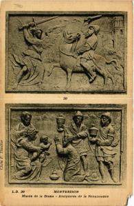 CPA   Montbrison - Musée de la Diana - Sculptures de la Renaissance (580056)