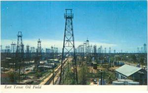 East Texas Oil Field, Largest in the U.S. TX, Chrome