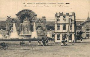 Exposition Internationale d'Électricité Marseille Pompiers Firefighter 05.79