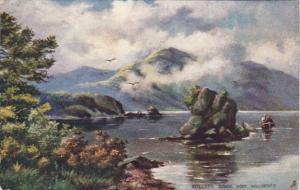 Tucks Ireland Killarney Colleen Bawn Rock 1909