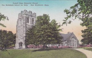 Massachusetts East Northfield Russell Saye Memorial Chapel The Northfield Sch...