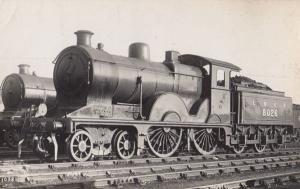 LNER 8026 Engine Train Vintage Railway Real Photo Postcard