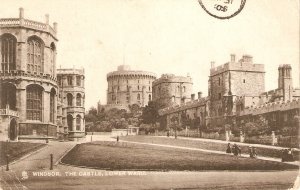 Windsor. The Castle, Lower Wrd Tuck Town and City Ser. PC # 2144