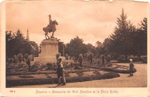 Monmento del Gral Necochea en la Plaza Rocha Necochea Argentina Unused