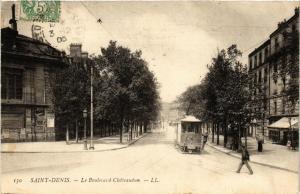 CPA SAINT-DENIS Le Boulevard Chateaudun. (509654)