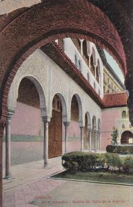 GRANADA, Alhambra, Galeria del Patio de la Alberta, Andalucia, Spain, 10-20s