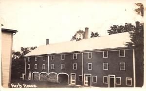Shaker Postcards Old Vintage Antique Post Cards Herb House Real Photo Writing...