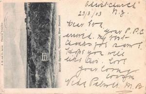 Mount Egmont, Taranaki, New Zealand, Early Postcard, Used in 1903