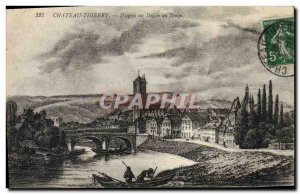 Old Postcard Chateau Thierry