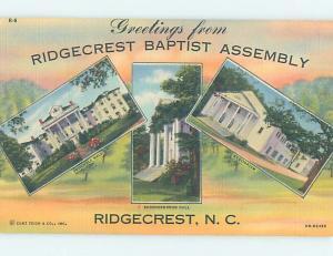 Linen BAPTIST ASSEMBLY Ridgecrest - Near Black Mountain & Asheville NC H6249