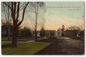 State industrial School for Boys, Lansing MI