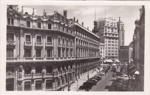 Spain Madrid Calle de Sevilla Seville Street Real Photo