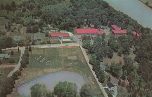 KIMBERLIN HEIGHTS , Tennessee , 50-60s ; Johnson Bible College from the Air