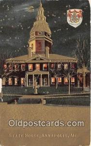 State House Annapolis, MD, USA Postcard Post Card Annapolis, MD, USA State House
