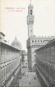 Italy Florence Firenze Gli Uffizii e la R. Galleria