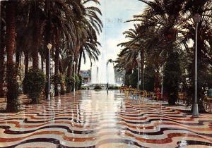 Spain Alicante Promenade Explanada Espana Fountain Brunnen