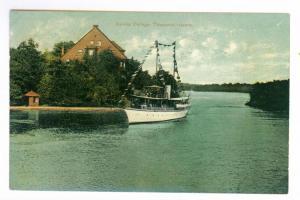 Devine Cottage, Thousand Islands, New York unused Otis Postcard