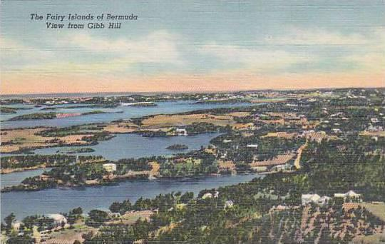 The Fairy Island of Bermuda, View from Gibb Hill, Bermuda, 30-40s