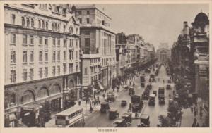 England London KIngsway Street Scene Tucks