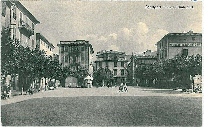 CARTOLINA d'Epoca - GENOVA:  Lavagna 1937