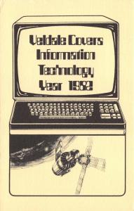 Limited Edition Postcard 1982 Information Technology by Veldale #M80
