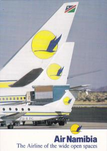 AIR NAMIBIA , The Airline of the wide Open Spaces , 80-90s #2