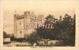 Postcard Old Fel Le Donjon (twelfth century)