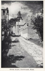 NANTUCKET , Massachusetts , 1910-30s; Stone Alley