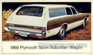 1969 plymouth sport suburban wagon Automotive, Car Vehicle, Old, Vintage, Ant...