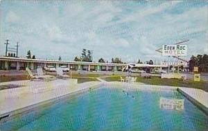 Georgia Jessup Eden Roc Motel Swimming Pool