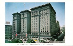 California San Francisco The St Francis Hotel