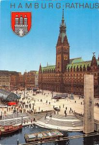 Hamburg Town Hall Square after Remodelling of Square Rathaus Promenade