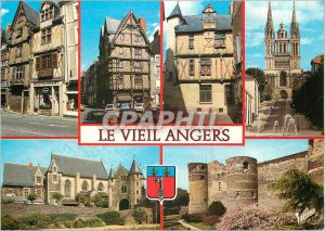 Postcard Modern Angers (Maine et Loire) Wonders of Maine Old Houses of Oisell...