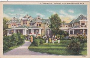 Michigan Benton Harbor Diamond House House Of David Curteich