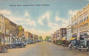 Michigan Sturgis Chicago Street Looking West sk2224