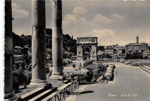 Italy Roma Arco di Tito Arch of Titus