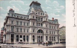 Massachusetts Boston Post Office 1905