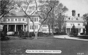 6973   MD Salisbury   Home for the Aged,