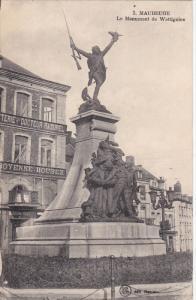 MAUBEUGE, Nord, France, 1900-1910's; Le Monument De Wattignies