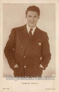 Charles Farrell Movie Actor / Actress Unused