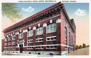 Hiram Walker & Sons Ltd. Walkerville, Ontario, Canada, early postcard, unused