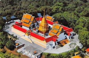 Wat Phra That Doi Suthep Raj Vora Viharn Chiengmai Thailand Unused