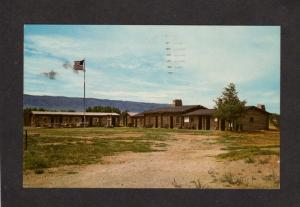 WY Old Fort Ft Caspar Military Post US Army Wyoming Postcard