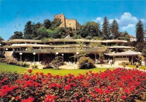Heilbad Badenweiler suedl. Schwarzwald Casino, Flowers Castle Ruins Chateau