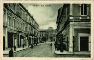 CPA AK TARANTO Via Archita . ITALY (531728)