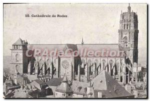Postcard Old Cathedral of Rodez